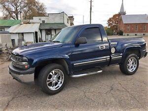 2002 Chevrolet silverado step side