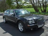 CHRYSLER 300C 3.0 V6 CRD AUTOMATIC TOUR BRILLIANT BLACK 2010 10 REG 5 DOOR ESTA