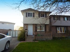 Guelph! 3 bedroom, 2 bath well maintained family home.