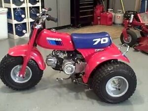 WANTED ATC 70 or FOURTRAX 50