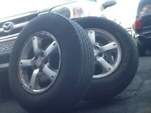 4tires and rimes for a Mazda Tribute