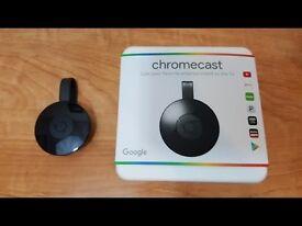 Google Chromecast - as New, Boxed