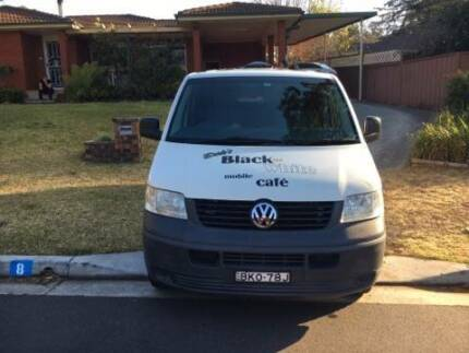SUCCESSFUL COFFEE RUN AND VAN FOR SALE
