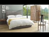 Marks and Spencer King Size Storage Bed and Mattress