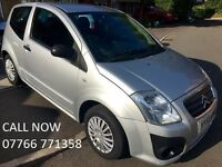 Ideal Xmas Gift! Citroen C2 HDi VTR & 2 Owners - LONG MOT & Newly Serviced - Free 1 YEAR Warranty!