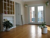 Large bright 2 bedroom apt for August 1st