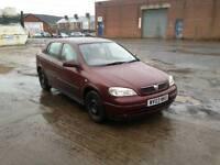 Vauxhall astra 03 1.6 8v