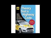 Theory Test and Highway Code book by AA.