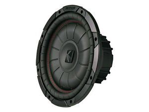 Kicker shallow=mount 10in 2-Ohm Subwoofer- NEW IN BOX