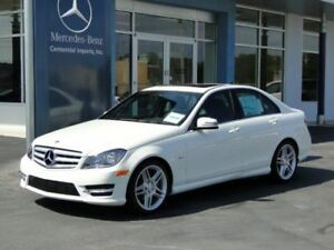 Mercedes C250 2012 83k km - 8 mags - roof rack Beautiful
