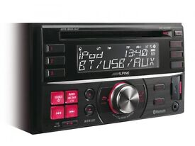 Alpine cde -w235bt 2 din car CD player