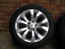 "Ford Falcon FG G6E 17"" alloy wheels rims mags 1 or 2 no scratches North Albury Albury Area Preview"