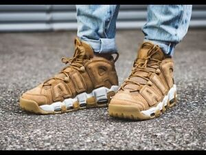 Brand New Nike Air More Uptempo '96 Wheat Size 12 $165