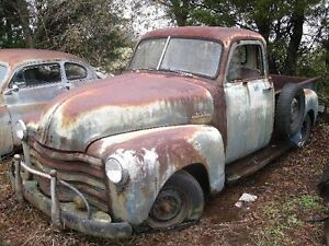 Wanted rough 1947 to 1954 Chev or GMC truck