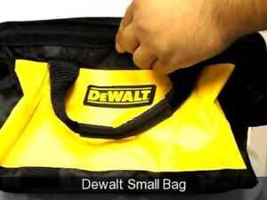 "COOL DEWALT TOOL BAG -Brand New 13"" Long"