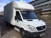 2010 MERCEDES SPRINTER LUTON BOX VAN WITH TAIL LIFT FOR SALE