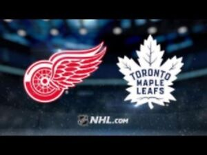 Looking for Red Wings vs leaf tickets