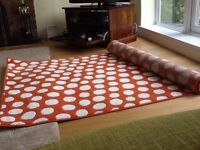 IKEA rug hardly used