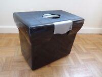 File box and suspension files