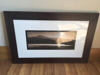 """Framed picture """"Panoram view 2"""""""