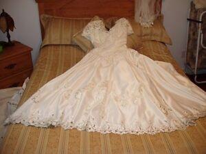 Robe de mariage et accesoire