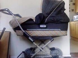 Mamas and Papas Burberry 2 in 1 Pram / stroller