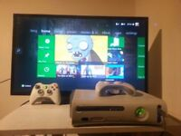 Xbox 360 Bundle, 20 Games, 2 Controllers, All Wires**, Headset, Wifi Antenna.