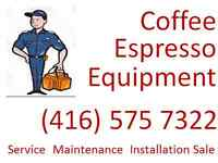 GTA Repair/Service/Sale of Commercial Espresso/Coffee Equipment