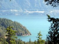 5 Acres just 1 hour from Vancouver: Gambier Island