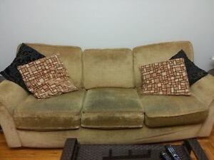 Free couch and chair.  Good condition
