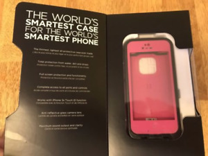 Pink Lifeproof case for iPhone 5