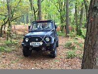 Suzuki SJ410 road legal 4X4 not jimny vitara land rover
