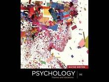 Psychology Themes and Variations 9e slightly used free shipping Lutwyche Brisbane North East Preview