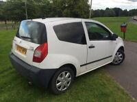 PRICE DROPPED....VAN FOR SALE 2007 CITROEN C2 VAN 1.4 DIESEL