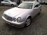 Mercedes CLK200 2.0 2001 Automatic MOT MAY 2017 SERVICE HISTORY GOOD CONDITION P/X WELCOME