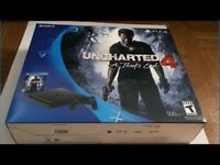 PS4 slim 500gb with Uncharted 4
