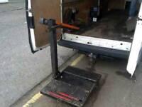 Penny hydraulic van loading ramp 380kg capacity