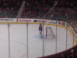 Two Calgary Flames Lower Bowl Seats - Section 111