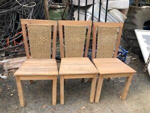 4x cane chairs Tuggerah Wyong Area Preview