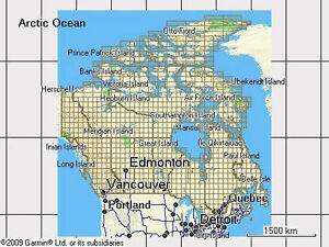 Topographic / Geocaching TOPO Maps for Canada & USA for Garmin