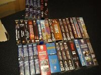 63 VARIOUS VHS VIDEOS PICTURES SHOW ALL
