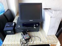 uniwell touch screen epos cash register
