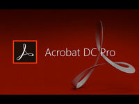 Adobe Acrobat Pro DC Full Version (PC & MAC ) FULL VERSION WITH KEY