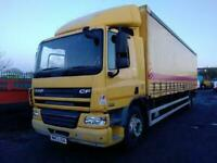 DAF TRUCKS CF 75.250 18 TONNE CURTAINSIDER