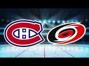 Montreal CANADIENS vs. Carolina HURRICANES tickets - Nov. 27