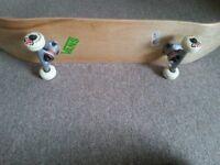 Raw Wood Skateboard from 'Enuff' New