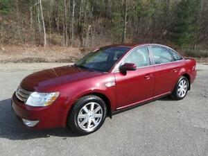 2008 Ford Taurus SEL LUXURY PKG-LEATHER-SUNROOF--ONLY 146,000KM
