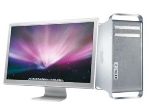 Power Mac G5 Intel Xeon  and 2 Apple Cinema Displays - Excellent