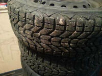 5x100 winter tire set