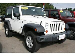 WANTED 2007 Jeep Wrangler